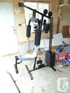 York Home gym with weights London Ontario image 1