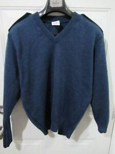 Mixed Men's Army, Police, Navy, Military Sweaters V-Necks & Tops