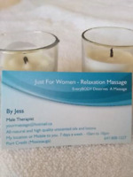 Just For Women Relaxation Massage by Male Therapist