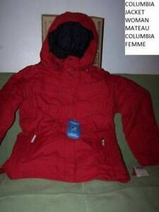 FOR September weather! NEW!! MANTEAU JACKET COLUMBIA NEW IN PLAS