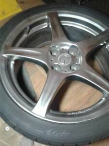 "4 mounted Neogen 17"" snow tires - $500 (New Westminster)"
