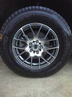 Winter Tires Michelin X-Ice 225/70R16 with Alloy Wheels