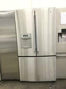STAINLESS STEEL LG FRENCH DOOR FRIDGE 37""