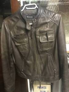 Leather Jacket Massimo Dutti Authentic