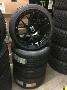 "WINTER - 18"" SNOW TIRE PACKAGE AUDI A4 A6 A5 CONTINENTAL WINTER"