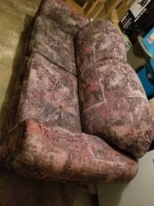 Free sofabed and coffee table
