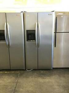 Electrolux Stainless Steel Side By Side Double Door Fridge