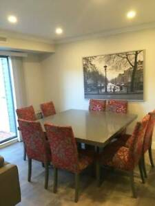 Dining Room Table & 8 Chairs - $650