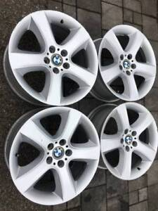 "Set of OEM genuine BMW 19"" X5 style 212 rims in good used cond"