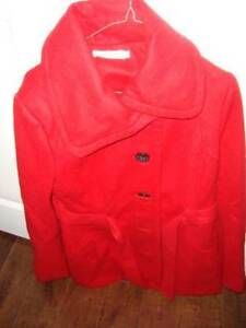 lady jacket red color size M brand new $ 80