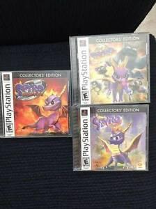 Spyro PS1 Playsation 1 Collectors Edition