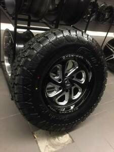 "17"" WHEEL & ALL TERRAIN TIRE DEAL CHEVY GMC 1500 6LUG! SNOW FLAK"