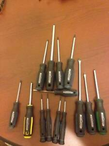 Assorted Screwdrvers/Precision Screwdrivers