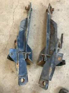 Fisher Minute Mount Snow Plow Push Plates Gm