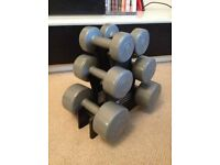 Light dumbell set