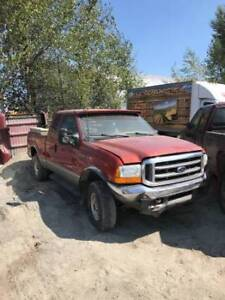 2001 Ford F350 - Parting