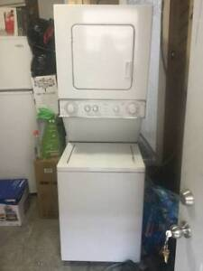 Washer & dryer spacesaver stacked, free delivery in Kelowna