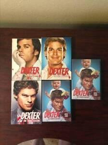 Dexter Seasons 1-3 and discs 1-2 for season 4