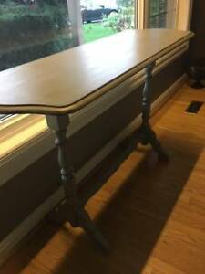 sofa table or hall table