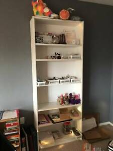 Tall White Ikea Bookshelf