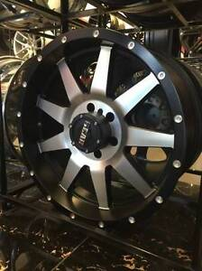 GEAR ALLOY 728 IN MACHINED BLACK 6X139 WITH 275/55/20 AT TIRES