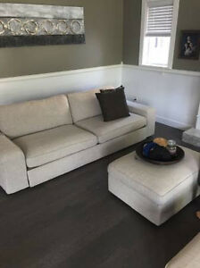 kea Kivik 3 seater sofa bed and ottoman (delivery)