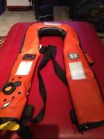 Mustang  Inflatable Life Jacket. BRAND NEW NEVER USE !