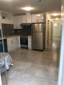 Brand New 2 b+1 bathroom basement Available (Renfrew Area)