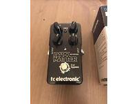 Dark matter TC Electronics distortion