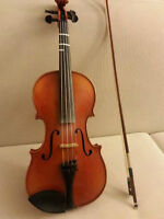 Made in 1972 Violin Labled 'Roderich Paesold'