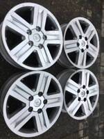 """Set of OEM Toyota tundra 20X8"""" rims wheels in good used cond"""