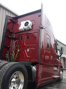 Semi Truck No-idle 12 Volt System installed