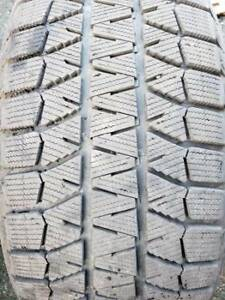 Blizzak winter tires  235/55/17