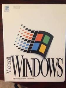 Brand New Sealed Windows 3.1