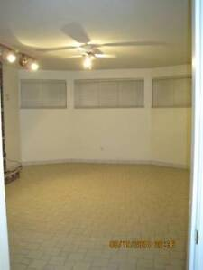 1 bedroom, 1 bathroom, dining room in a large basement suite