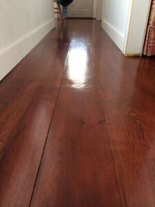 """Wide-plank red pine flooring 8,10"""" wide! Delivery"""