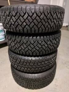 215/60/16 Winter Tires Next to New on Alloy Wheels