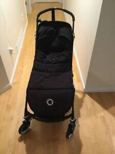 Excellent black limited edition bugaboo bee plus Campbell River Comox Valley Area image 1