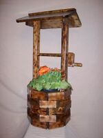 Gorgeous Wishing Well For Garden Or Deck!