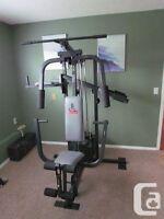 Weider 8530 home gym. Excellent condition.