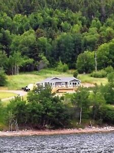 Waterfront Home in Rattling Brook, NL