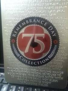 75th Remembrance Day Collection DVD