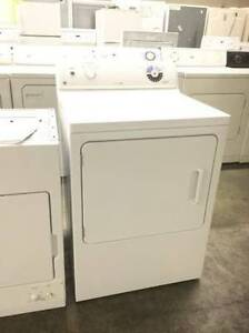 "Ge Commercial Quality White 27"" Dryer"