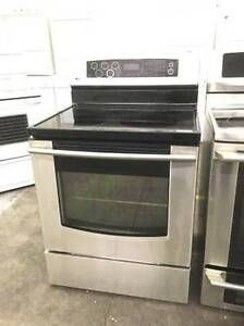 LG STAINLESS STEEL SMOOTH GLASS TOP STOVE 30""