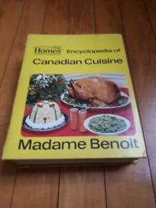 Jehane Benoit Encyclopedia of Canadian Cuisine