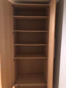 """Ikea Wardrobe 39"""" wide 24"""" deep 93"""" high"""
