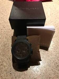Michael Kors Men's MK8156 Black Rubber Quartz Watch