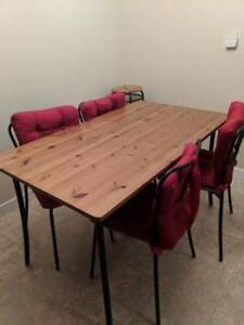 Great IKEA dinning table with 4 chairs