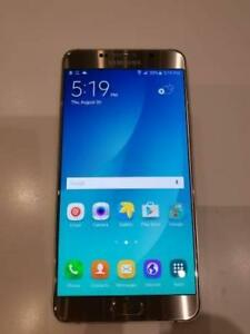 Used Unlocked Samsung Galaxy Note5 32GB Gold