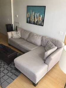 Grey SECTIONAL COUCH, Great Condition!